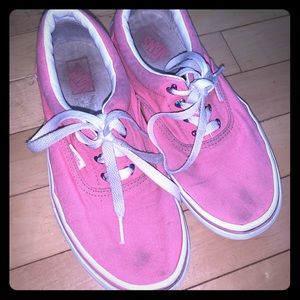 Girls Vans size 5 youth